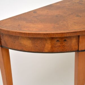 antique pollard oak sheraton georgian console table