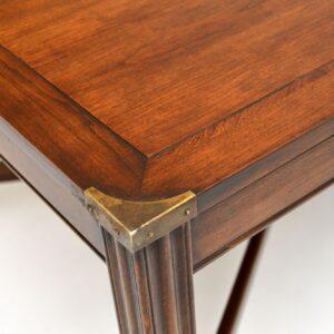 antique mahogany georgian coffee table