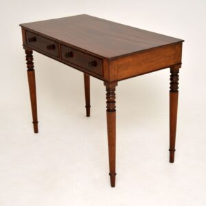 Antique William IV Mahogany Writing Table