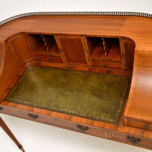 antique mahogany carlton house desk