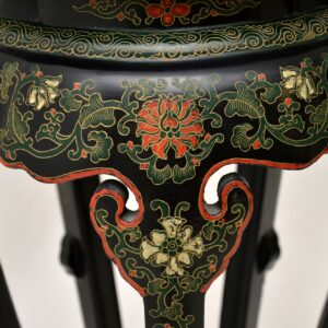 antique chinese chinoiserie plant stand planter jardiniere