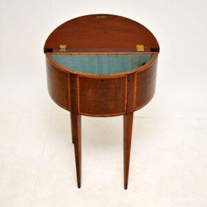 antique georgian edwardian sheraton card table console side table
