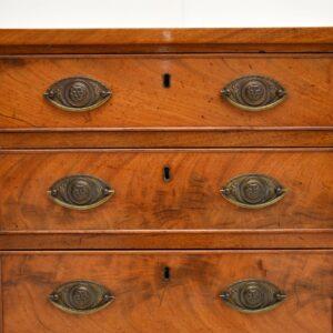 antique georgian mahogany chest of drawers