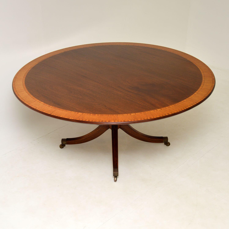 antique regency mahogany tillman dining table