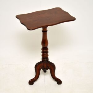 antique mahogany victorian william IV wine side table