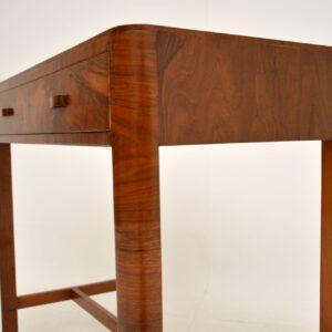 Art Deco Figured Walnut Side Table by Heal's