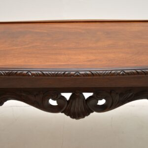 antique mahogany queen anne coffee table