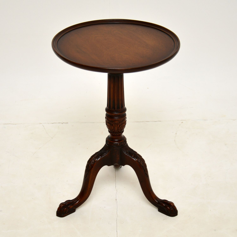 antique mahogany victorian georgian wine table