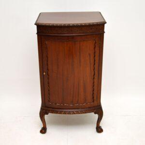 antique victorian mahogany cabinet