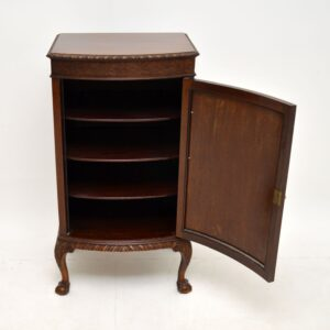 Antique Chippendale Style Mahogany Cabinet
