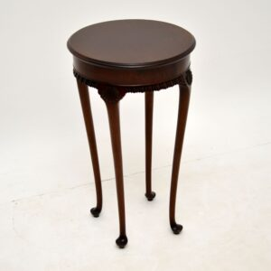 antique victorian mahogany side table
