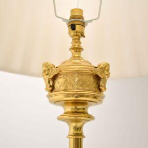 antique retro vintage brass neo classical lamp