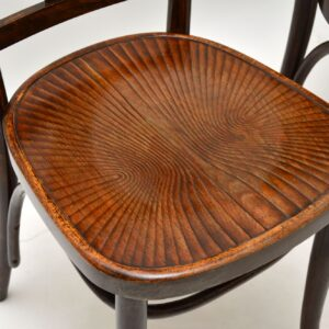 set of four antique bentwood thonet dining chairs