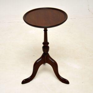 antique mahogany wine table