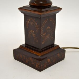 antique vintage neoclassical table lamp