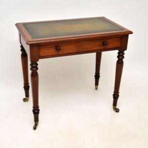 antique victorian mahogany writing table desk