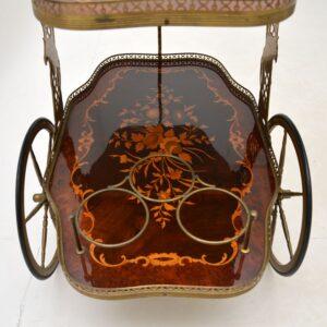 antique vintage retro italian drinks trolley