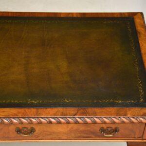 antique walnut writing table desk