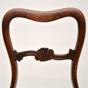 Pair of Antique William IV Rosewood Side / Dining Chairs