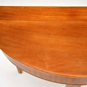 Antique Georgian Walnut Console Table