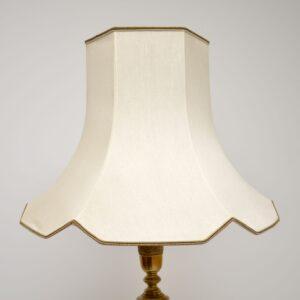 Antique Solid Brass Floor Lamp
