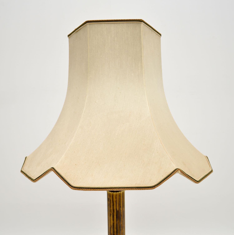 antique vintage brass table lamp