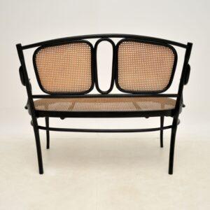 antique thonet bentwod cafe bench sofa settee