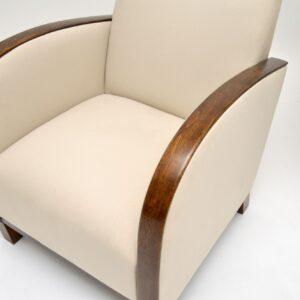 pair of swedish art deco armchairs