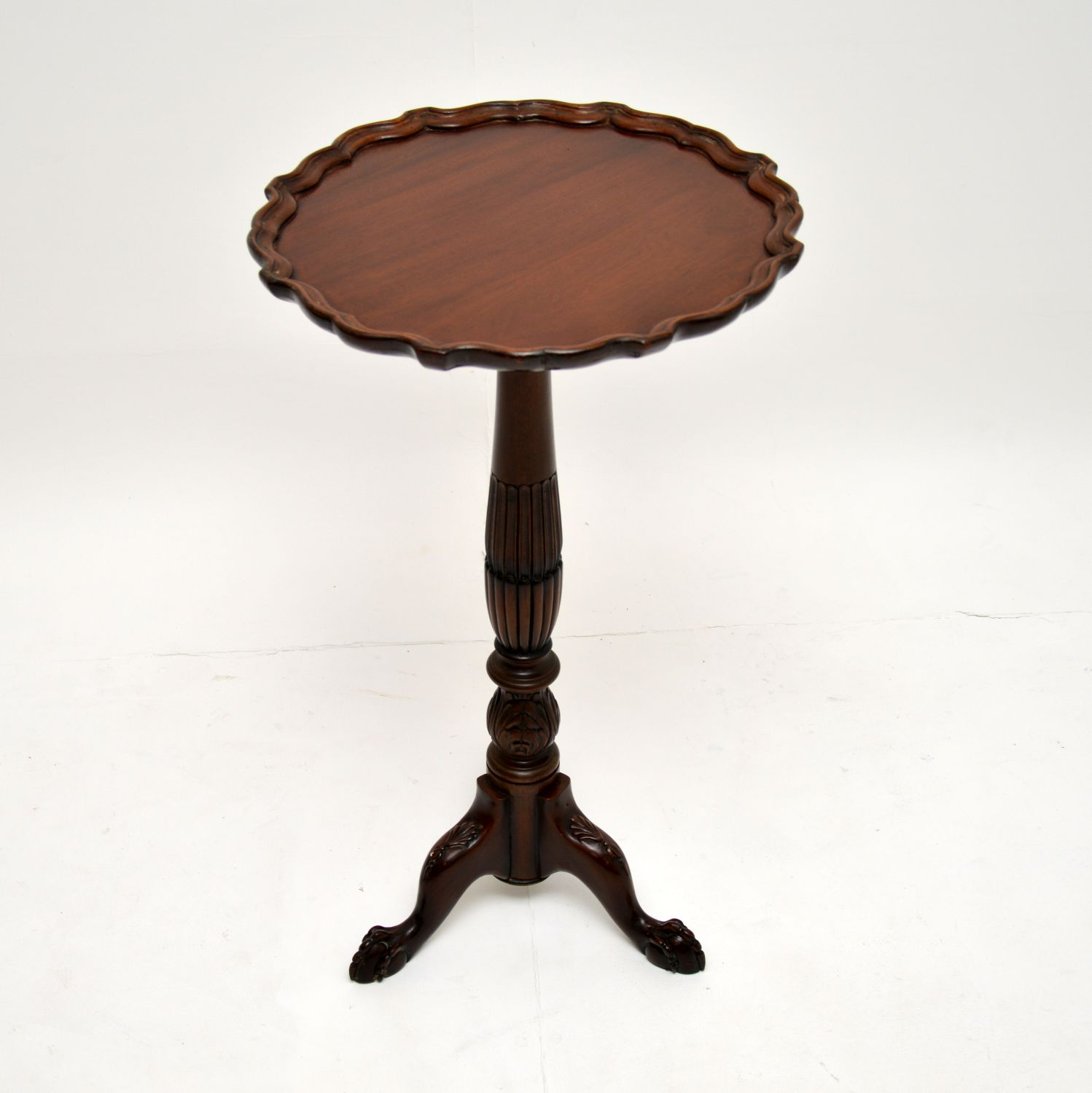 antique victorian mahogany wine occasional table
