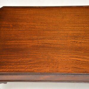 antique vintage georgian style mahogany coffee table