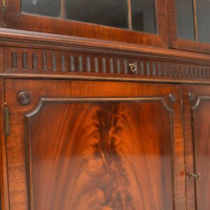 pair of antique mahogany astral glazed bookcases bookcase